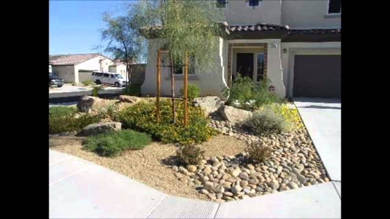 Good Desert Landscaping Ideas   Home Art Design Decorations   YouTube Design Ideas