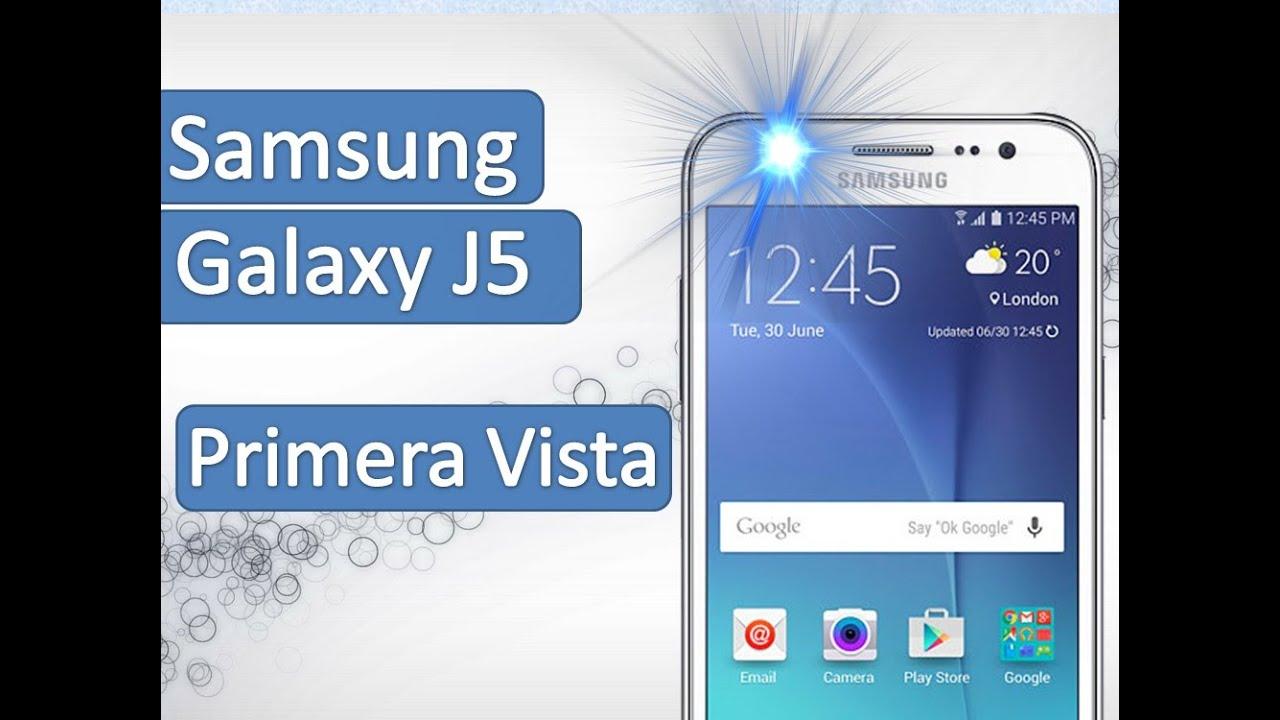 samsung galaxy j5 primera vista celular con flash frontal. Black Bedroom Furniture Sets. Home Design Ideas