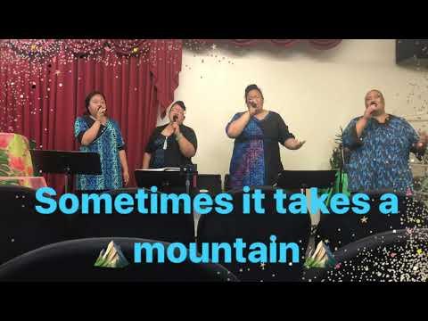Sometimes it takes a mountain