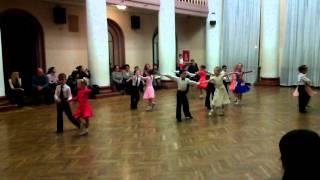 Бальные танцы 2 год обучения 14.11.2013  открытый урок ча-ча-ча