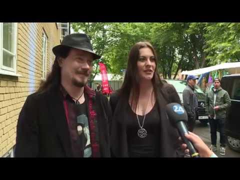 NIGHTWISH  - Interview - Tuomas Holopainen & Floor Jansen (Sweden) [NT.se]