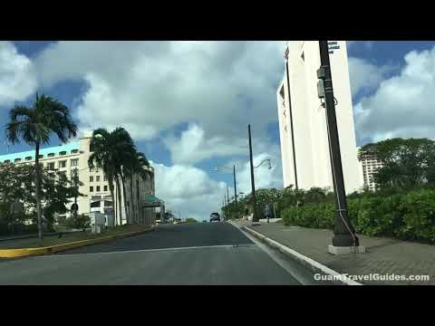 Drive around Guam 2021 - Micronesia Mall to Tumon