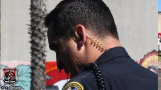 SDPD Officer Punched in the Face   Cops Swarm Suspect Make Forceful Arrest