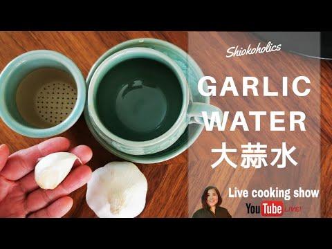 how-to-make-garlic-water