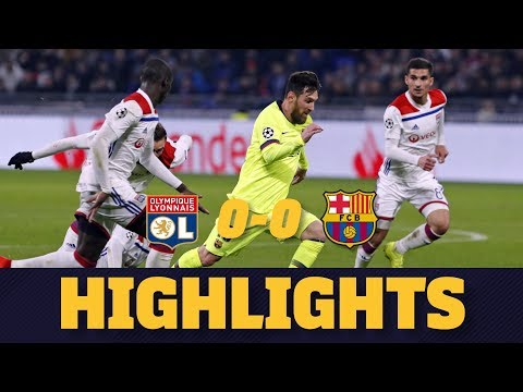LYON 0-0 BARÇA | Match highlights