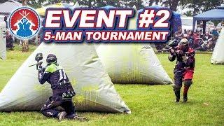 NXPL Event #2 at Excalibur Paintball | 5-Man Tournament | Battle Creek Michigan