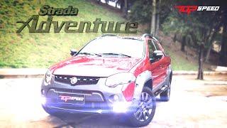 Avaliação Fiat Strada Adventure Extreme | Canal Top Speed
