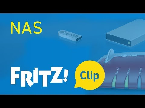 The FRITZ!Box as a network storage medium (NAS)