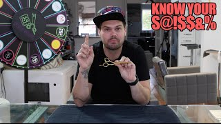 Know Your S@!$$&? Episode 3 - Scissor education and weekly deals 11/13/15