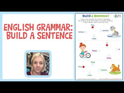 english-grammar:-build-a-sentence-for-1st-grade---kids-academy