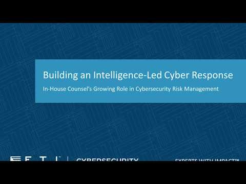Building an Intelligence Led Cyber Program