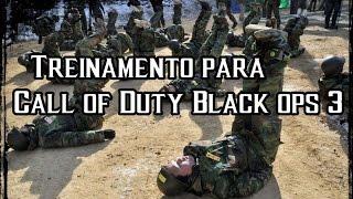 Treinamento para o Black ops 3