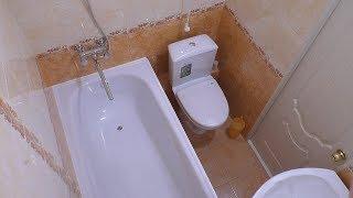 Бюджетний ремонт ванної 2 роки. Заміна дешевих змішувачів у ванній кімнаті на якісні