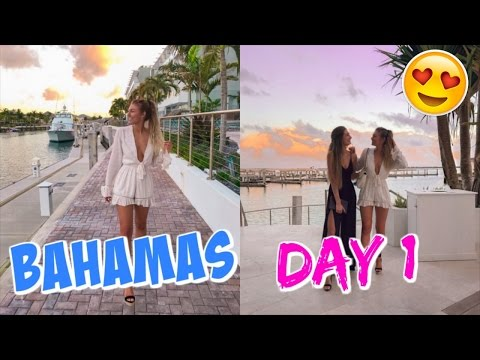 BAHAMAS DAY 1 // WORKOUT ROUTINE!!
