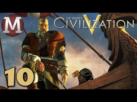 Civilization 5 #10 - Vox Populi - Archipelago Denmark