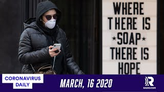 What Does Shelter In Place Mean? Coronavirus Daily Podcast For Monday March 16, 2020
