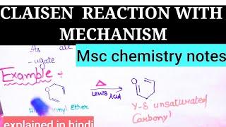 Msc Chemistry Queen
