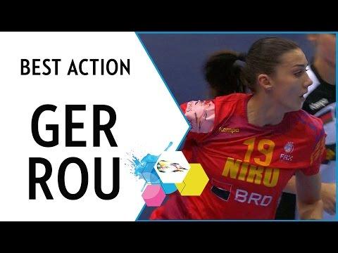 Romania's new Neagu?! Cristina Zamfir | EHF EURO 2016