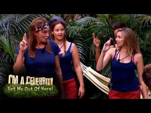 Nadine Teaches Caitlyn A Girls Aloud Dance Routine | I'm A Celebrity... Get Me Out Of Here!