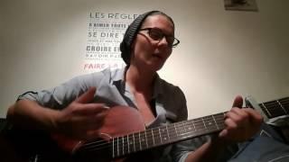 """Guitare cover """" je m"""