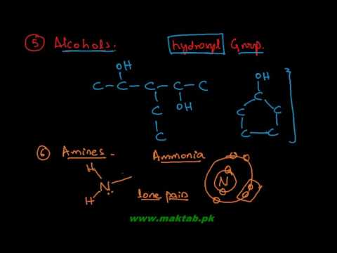 FSc Chemistry Book2, CH 7, LEC 13: Functional Groups (Part 1)