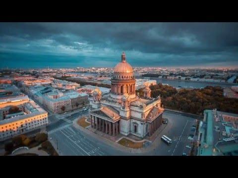 San Petersburgo a vista de pájaro