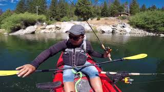 Shaver lake trout fishing summer is no fun