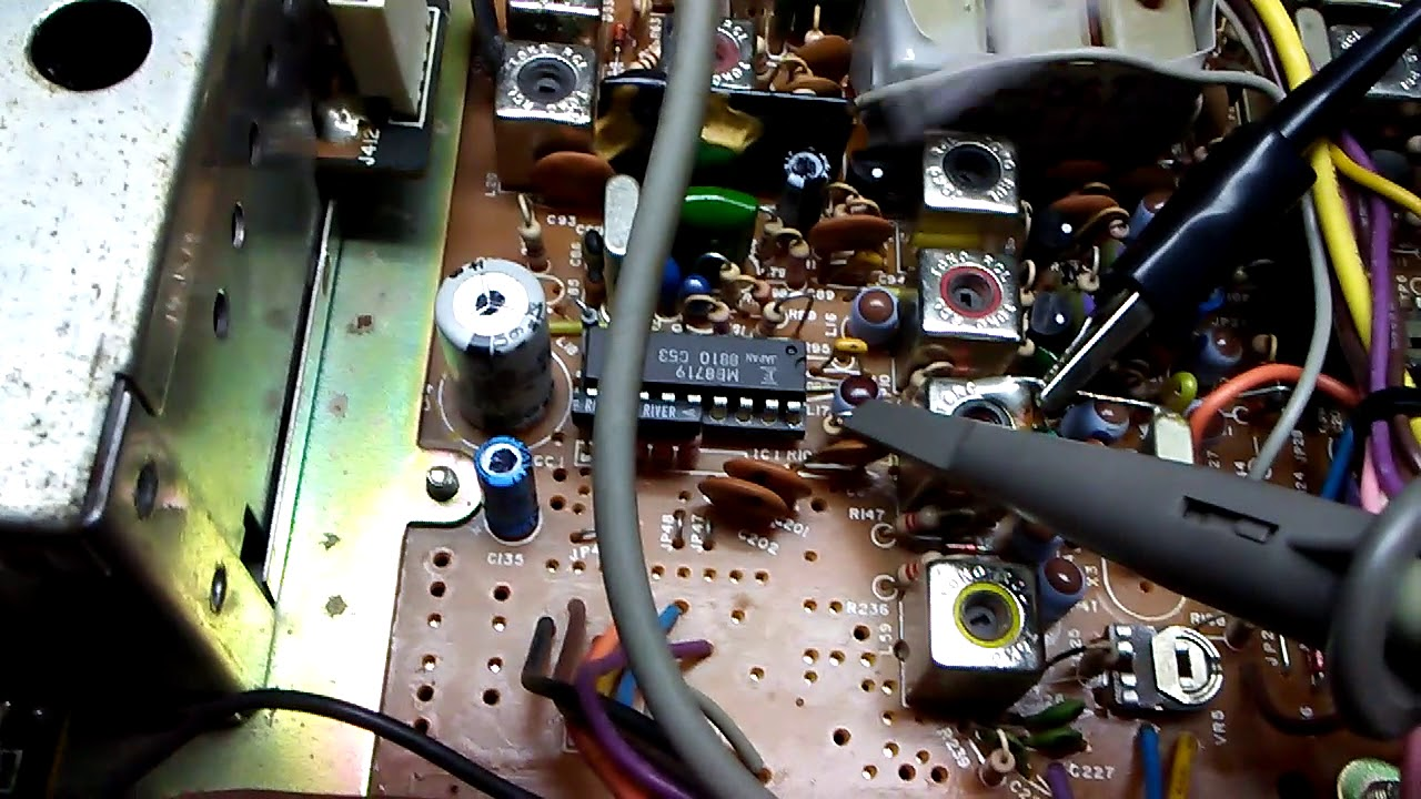 CB Radio Capacitor Kit Cobra Model 2000GTL PC 497AB