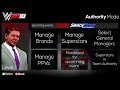 WWE 2K18 The Authority Mode Concept,New Game mode,Manage GM,and Much More PS4 XB1