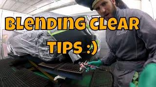 Blending Clear Tips