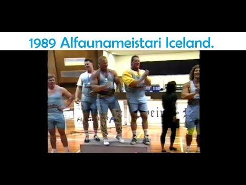 1989 Alfaunameistari Iceland (strongman).