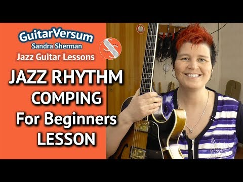 jazz-guitar-comping-rhythms---lesson-for-beginners