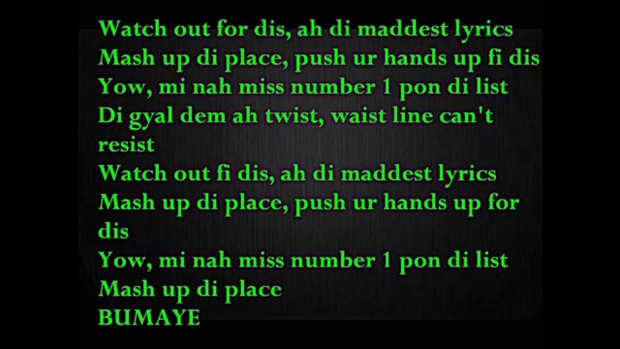 Major Lazer – Watch Out For This (Bumaye) Lyrics | Genius ...