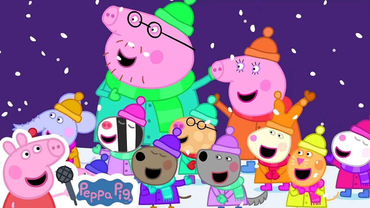Peppa Pig Official Channel 🎄 We Wish You A Merry Christmas   Christmas Songs + Nursery Rhymes