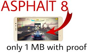 [real] Asphalt 8 Android Game Highly Compressed Only 1 MB