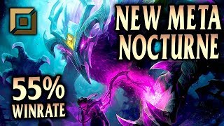 Nocturne Top Lane Gameplay - Patch 9.18 (League of Legends Gameplay)
