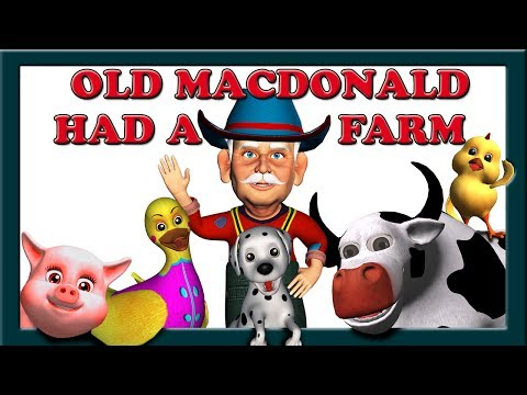 Old MacDonald Had a Farm Song with Lyrics - Children's Nursery Rhymes Songs | Mum Mum TV