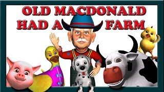 Old MacDonald Had a Farm Song with Lyrics - Children's Nursery Rhymes Video Songs from Mum Mum TV