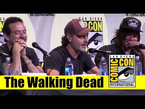 The Walking Dead | Comic Con 2016 Full Panel ( Andrew Lincoln, Norman Reedus, Jeffrey Dean Morgan)