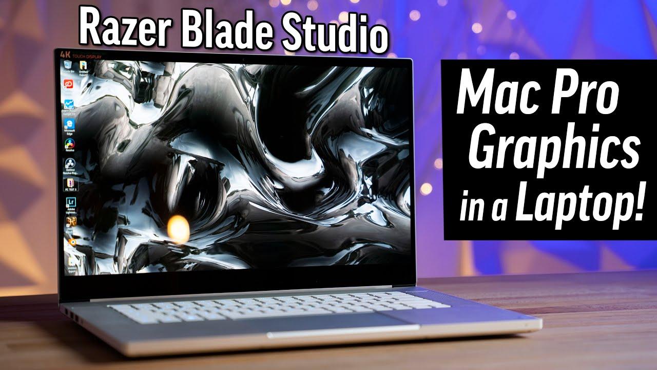 "Razer Blade Studio test - Ai-je DITCH mon MacBook Pro 16 ""? + vidéo"
