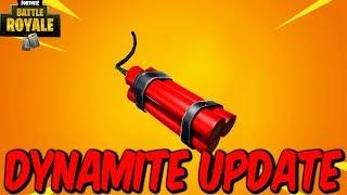 "Fortnite:Battle Royale ""Dynamite"" and ""Wild West LTM"" Update - Fortnite Dynamite Gameplay Update"