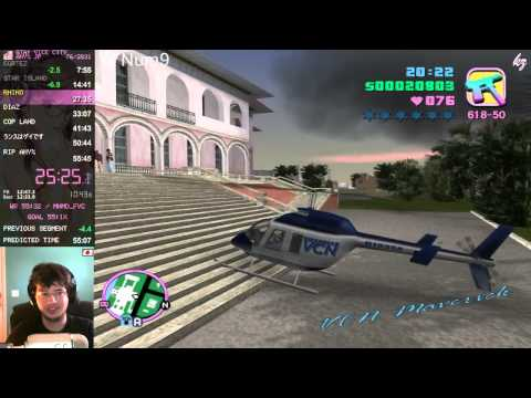[Former WR] GTA: Vice City Speedrun: Any%, 55:15