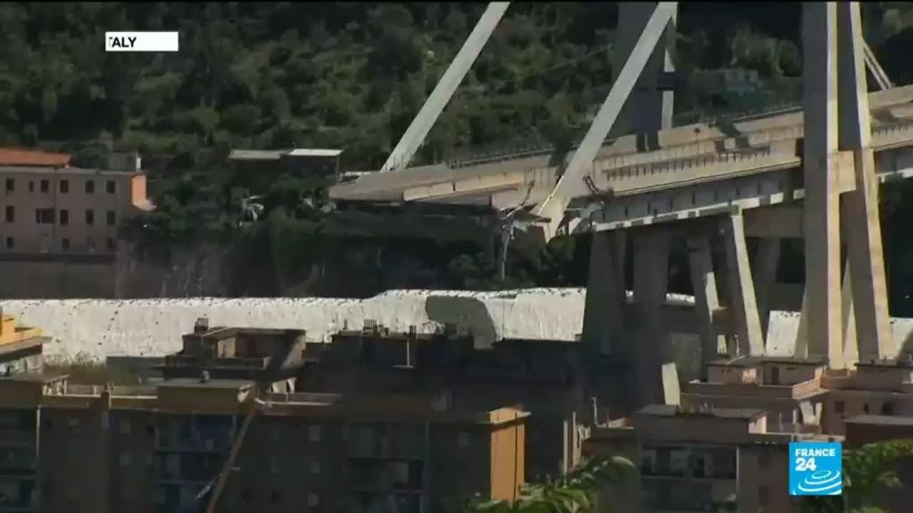 فرانس 24:Italy bridge collapse: Government opens probe into bridge operator Autostrade