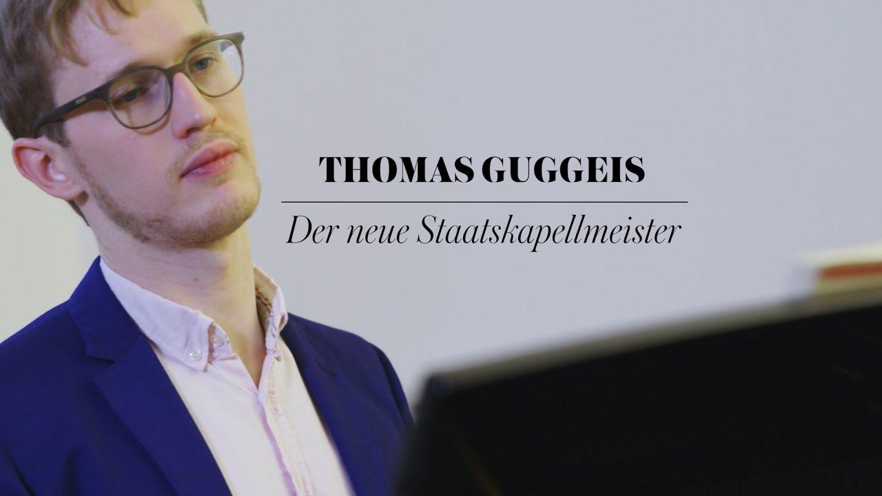 Thomas Guggeis ist unser neuer Staatskapellmeister!