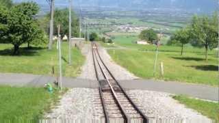 Bahnfahrt von Gais nach Altstätten SG