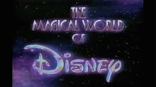 The Magical World of Disney - Show Open - NBC TV (1990)