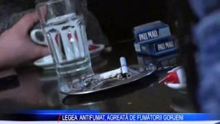 LEGEA ANTIFUMAT AGREATA DE FUMATORII GORJENI