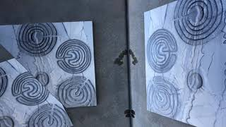 Monolith 2: Labyrinths painting by Bayberry Lanning Shah - Video4