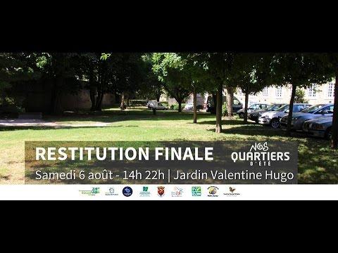 Restitution de Nos Quartiers d'Eté 2016 - Boulogne sur mer
