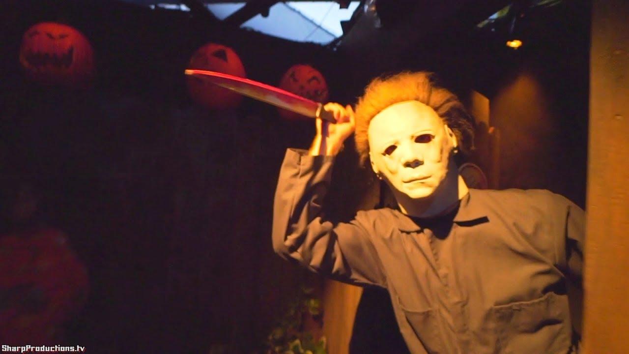 halloween (full maze) at halloween horror nights at universal